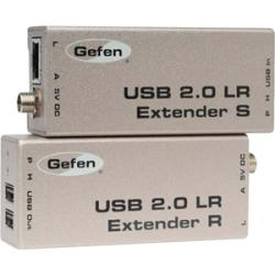 Gefen EXT-USB2.0-LR Grey KVM switch