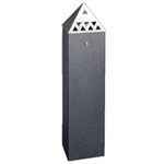 VFM PYRAMID TOP TOWER BIN BLACK 32926060