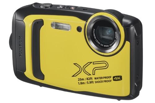 """Fujifilm FinePix XP140 Compact camera 16.4 MP CMOS 4608 x 3456 pixels 1/2.3"""" Black,Yellow"""