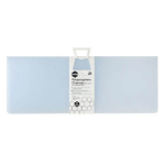 MARBIG CHAIRMAT PP 900 X 1200MM RECTANGULAR SMALL FROSTY ICE