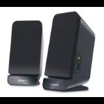 Creative Labs A60 2.0 2W Black loudspeaker