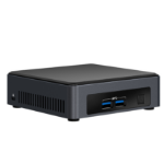 Intel NUC BLKNUC7I7DNKE PC/workstation barebone i7-8650U 1.90 GHz UCFF Black BGA 1356