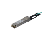 StarTech.com MSA Compliant QSFP+ Active Optical Cable - 15 m (49 ft) fiber optic cable