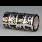 Zebra 3200 Wax/Resin Black