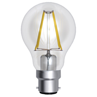 CED 6W BC 600LM LED FILAMENT LAMP