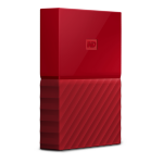 Western Digital My Passport 2000GB Red external hard drive