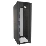 Vertiv VR3357 rack cabinet 48U Freestanding rack Black, Transparent