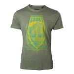 MARVEL COMICS Guardians of the Galaxy Vol. 2 Men's I am Groot T-Shirt, Medium, Green (TS571029GOG-M)