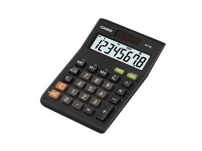 Desktop Basic Black calculator (MS-8B)