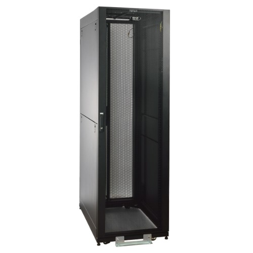 Tripp Lite 42U SmartRack Value Series Standard-Depth Rack Enclosure Cabinet, 2400-lb. Capacity with doors & side panels