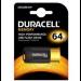 Duracell DRUSB64HP 64GB USB 3.0 (3.1 Gen 1) Type-A Black,Orange USB flash drive