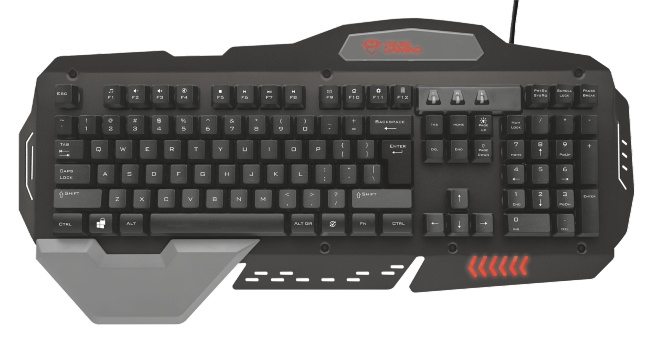 Trust GXT 850 USB Black keyboard