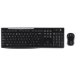 Logitech MK270r keyboard RF Wireless QWERTY English Black