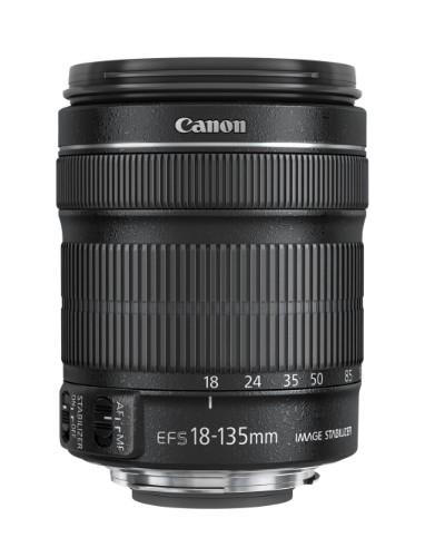 Canon EF-S 18-135mm f/3.5-5.6 IS STM SLR Standard lens Black