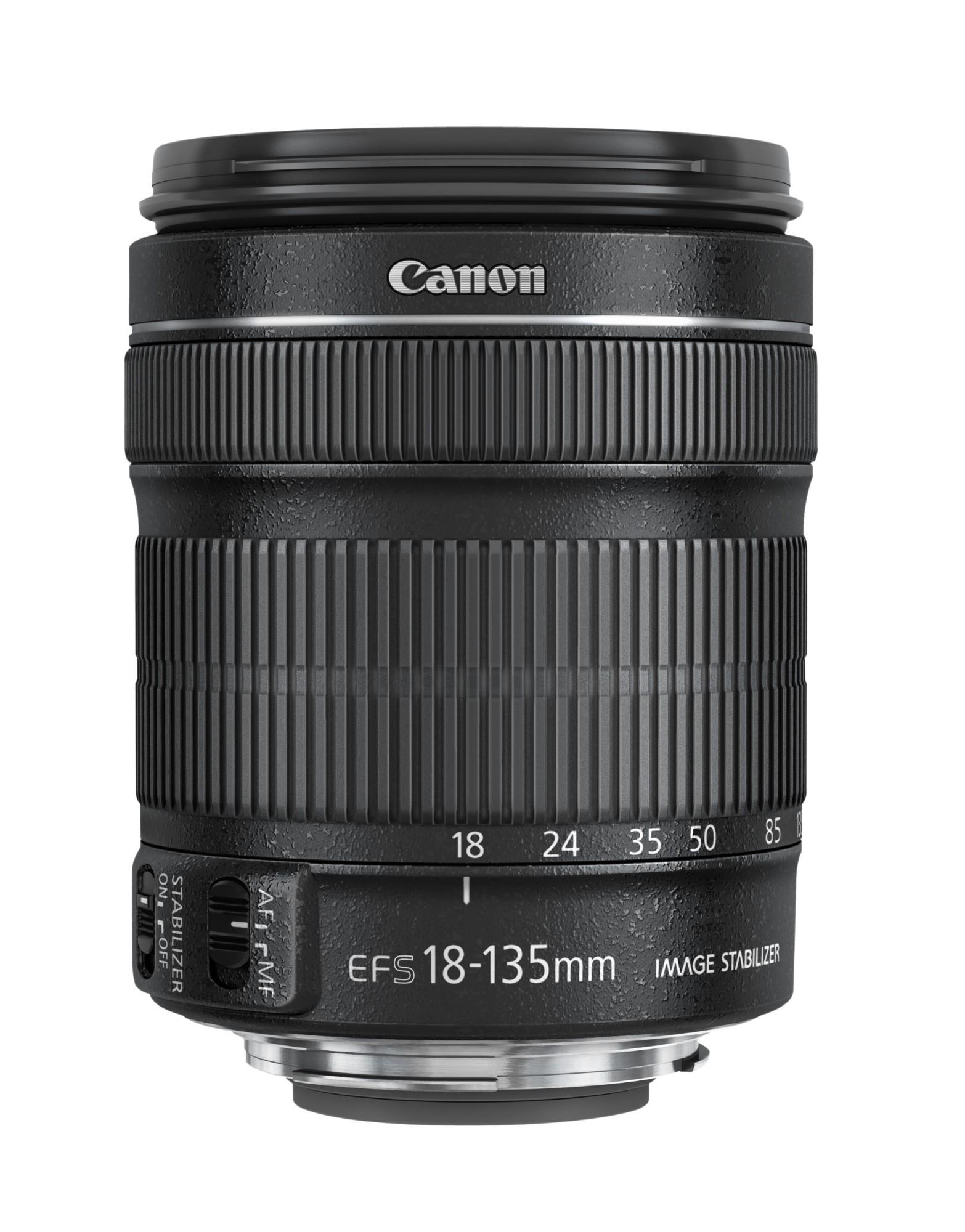 Canon EF-S 18-135mm f/3.5-5.6 IS STM SLR Objetivo estándar Negro
