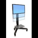 Ergotron Neo-Flex Mobile MediaCenter LD Black Flat panel Multimedia cart