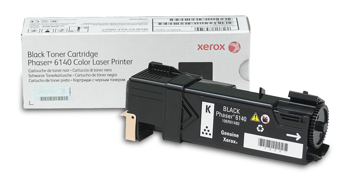 Xerox Phaser 6140, Cartucho De Tóner Negro Normal (2.600 Páginas)