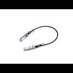 MicroOptics MO-S+DA0001 InfiniBand cable 1 m SFP+ Black