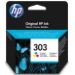 HP 303 Original Cian, Magenta, Amarillo