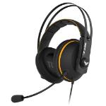 ASUS TUF Gaming H7 7.1 Gaming Headset, 53mm Driver, 3.5mm Jack (USB Adapter), Boom Mic, Virtual Surround,