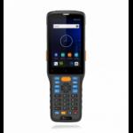 "Newland N7-AER-7KJF-L handheld mobile computer 10.2 cm (4"") 480 x 800 pixels Touchscreen 360 g Black, Orange"