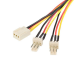StarTech.com 12in TX3 Fan Power Splitter Cable