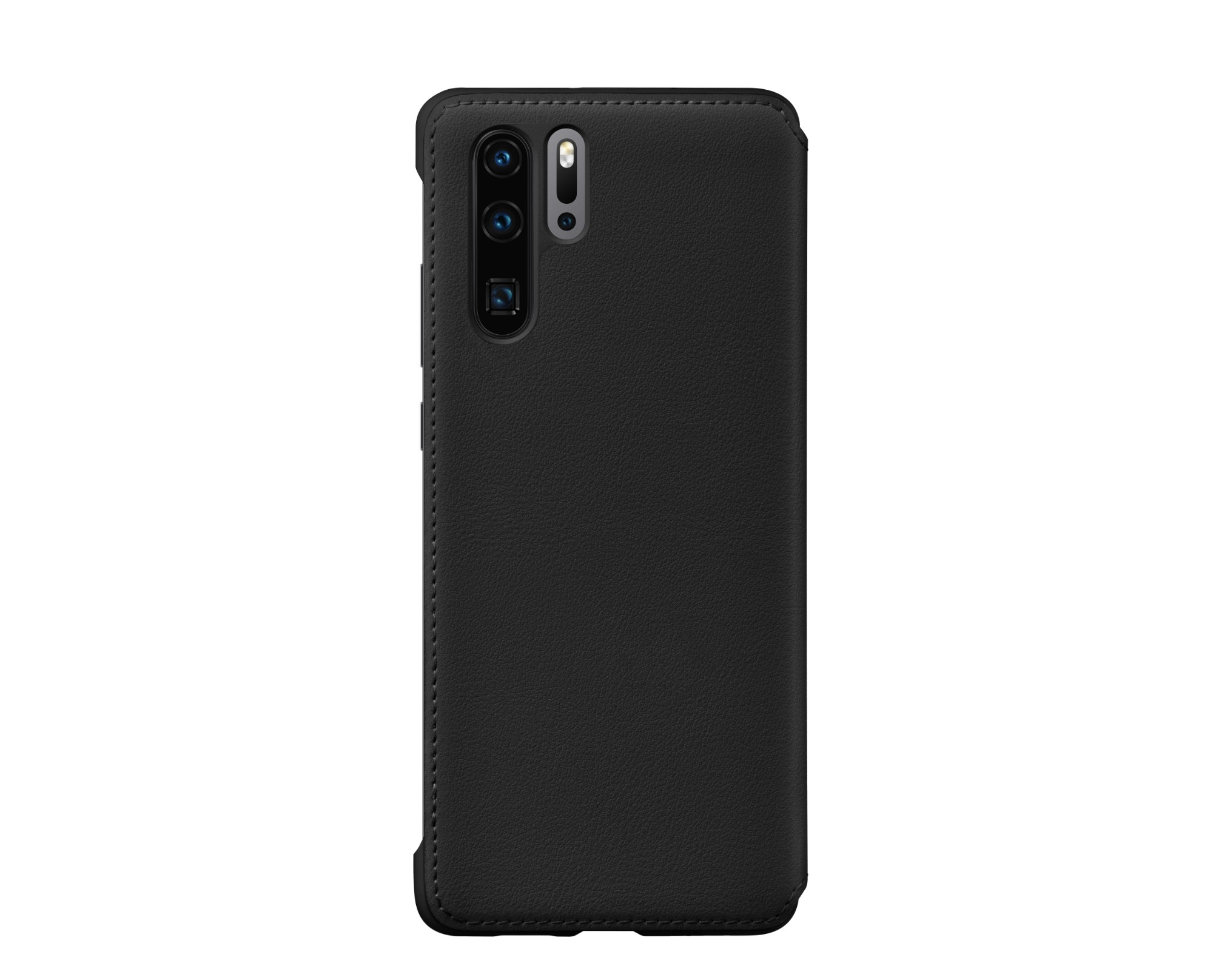 Huawei P30 Pro Wallet Cover Black