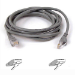 Belkin RJ45 CAT-6 Snagless STP Patch Cable 3m grey 3m Grey networking cable