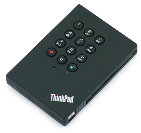 Lenovo 0A65619 500GB Black external hard drive