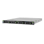Fujitsu PRIMERGY RX1330 M4 server 3.3 GHz Intel® Xeon® E-2124 Rack (1U) 300 W