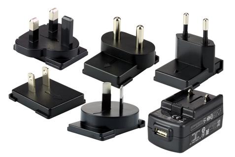 Honeywell 50136024-001 power plug adapter Black