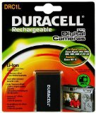 Duracell Digital Camera Battery 3.7v 950mAh 3.5Wh Lithium-Ion (Li-Ion) 950mAh 3.7V rechargeable battery