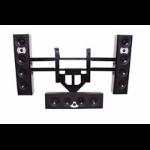 Chief Flat Panel Left/Right Speaker Adapter Black speaker mount