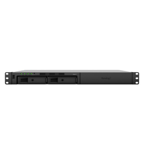 Synology RackStation RS217 Ethernet LAN Rack (1U) Black,Grey NAS