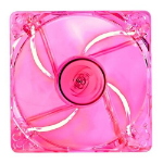 Deepcool Case Fan 120mm x 25mm Transparent Frame with Red LED