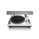 Lenco L-3808 Direct drive audio turntable Black,White