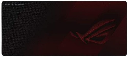 ASUS ROG Strix Scabbard II Gaming mouse pad Black, Red