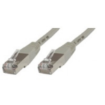 Microconnect Cat5e 1m 1m Grey networking cable