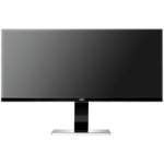 "AOC u3477Pqu 34"" Wide Quad HD IPS Black computer monitor"