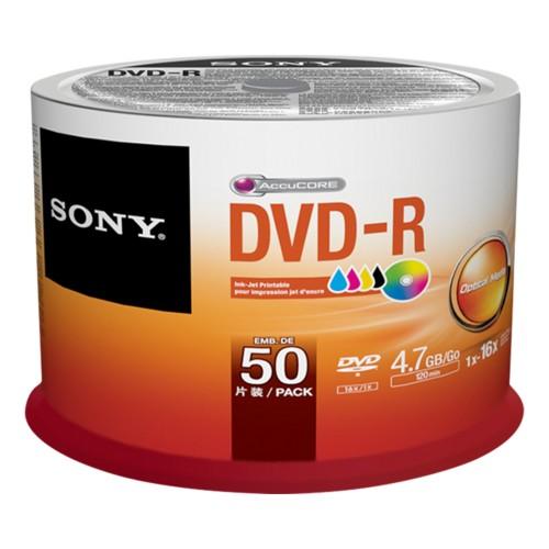 Sony DVD RECORD MEDIA DVD-R 16X