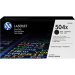 HP CE250XD (504X) Toner black, 10.5K pages, Pack qty 2