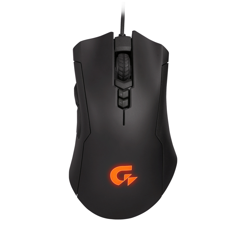 Gigabyte XM300 USB Optical 6400DPI Black Right-hand