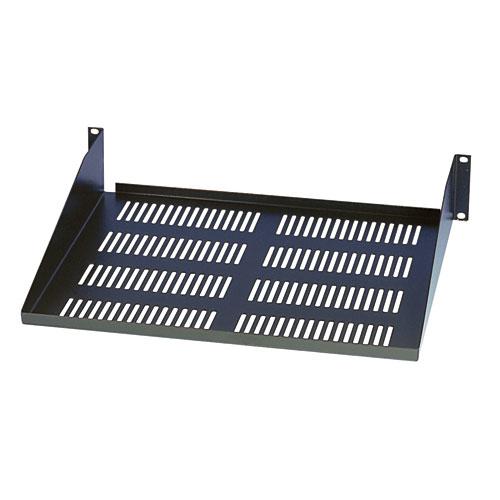 Tripp Lite SmartRack 2U Cantilever Fixed Shelf (60 lb / 27 kg capacity; 18-in. / 457 mm depth.)