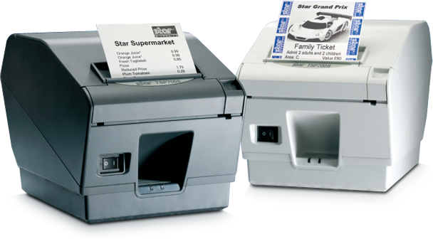 Star Micronics TSP743IIE-24-GRY Thermal Print