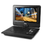 PYLE 10IN PORTABLE CD/DVD PLAYER HD