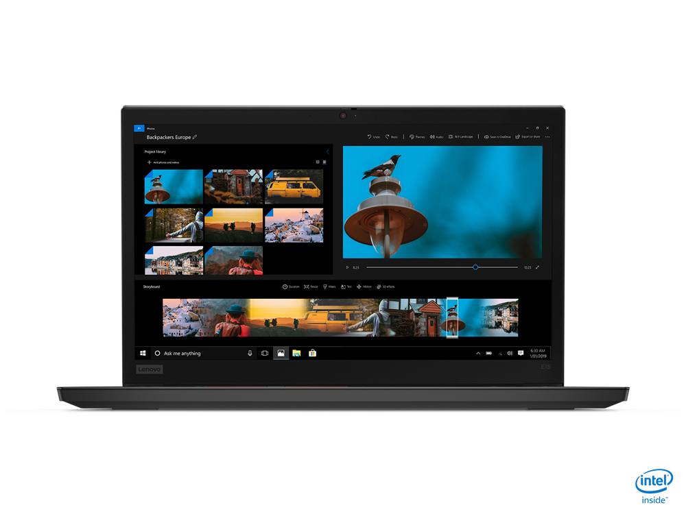 "Lenovo ThinkPad E15 Portátil Negro 39,6 cm (15.6"") 1920 x 1080 Pixeles Intel® Core™ i5 de 10ma Generación 8 GB DDR4-SDRAM 256 GB SSD Wi-Fi 6 (802.11ax) Windows 10 Pro"