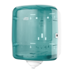 Tork 473180 paper towel dispenser Roll paper towel dispenser Turquoise, White