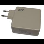 BTI AC-60TC-EU mobile device charger Indoor Grey