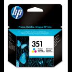 HP 351 Original Cyaan, Magenta, Geel 1 stuk(s)