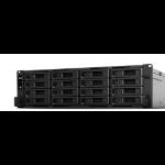 Synology RackStation RS2818RP+ NAS Rack (3U) Ethernet LAN Black, Grey
